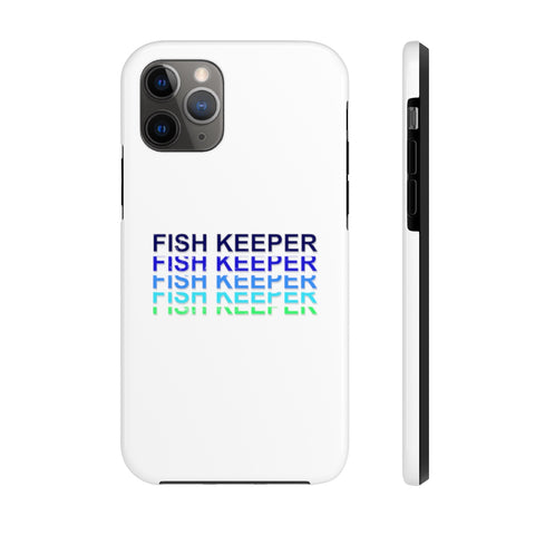 Navy Fish Keeper Phone Case