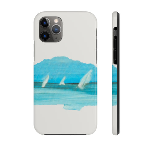 Distant Sailboat Case Mate Tough Phone Case