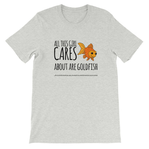 Cares About Her Goldfish T-Shirt