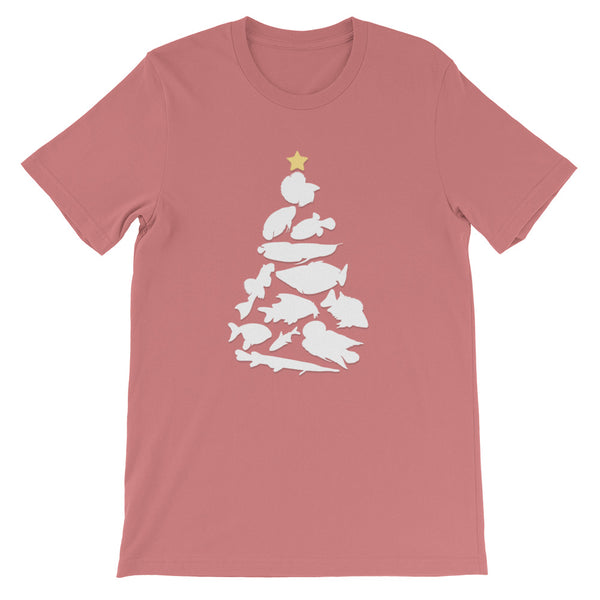 Freshwater Fish Christmas Tree Tee