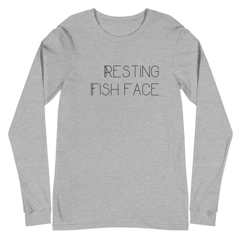 RESTING FISH FACE