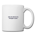 Nitrogen Cycle Mug - white