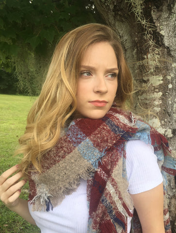 Blanket Scarves (four colors)