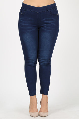 Slimming & Soft Jeggings PLUS SIZE