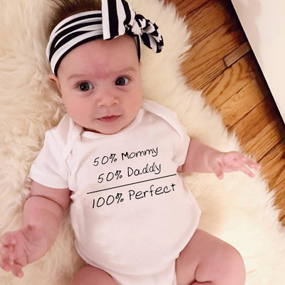 100% Perfect Baby Bodysuit
