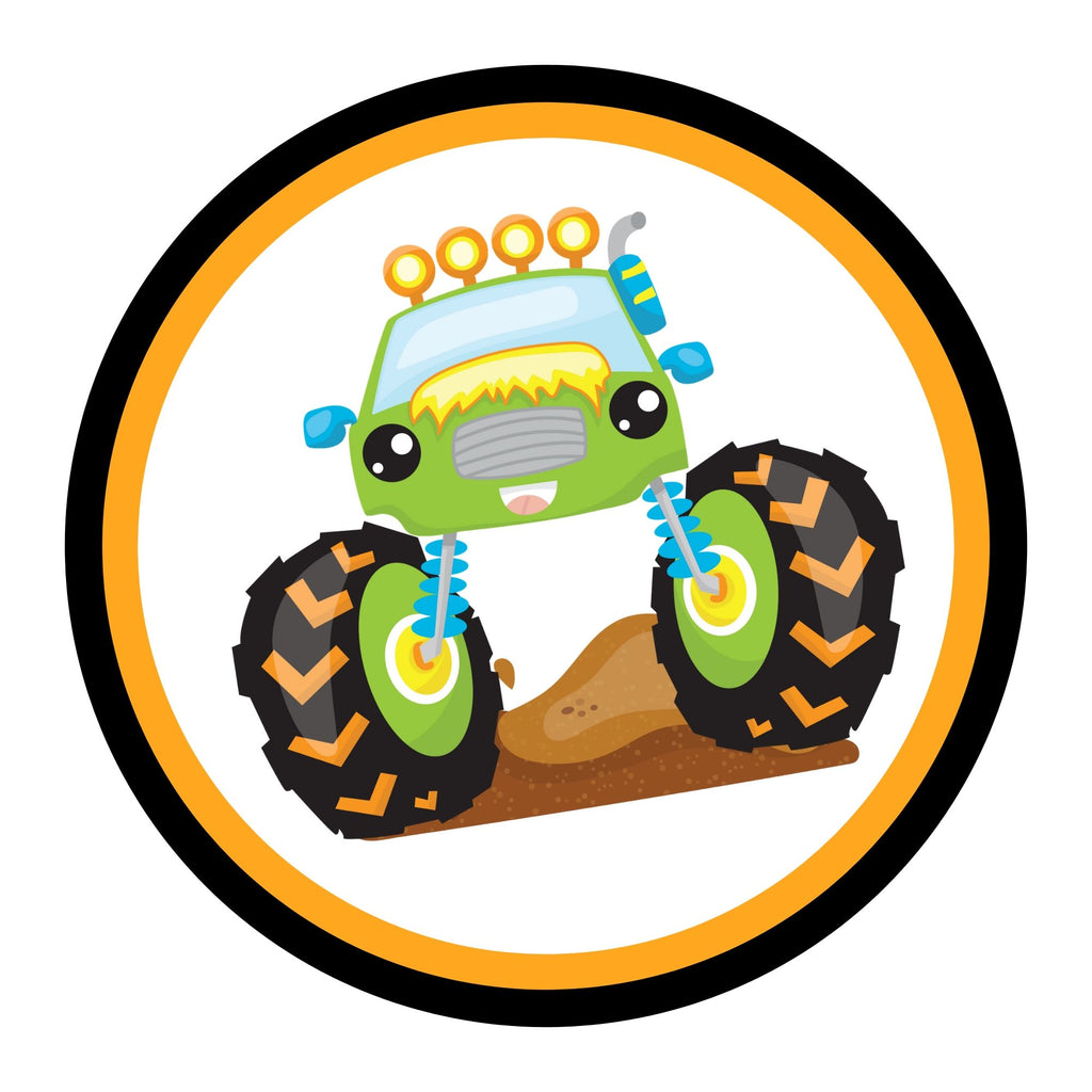 Monster Truck Birthday Party Package