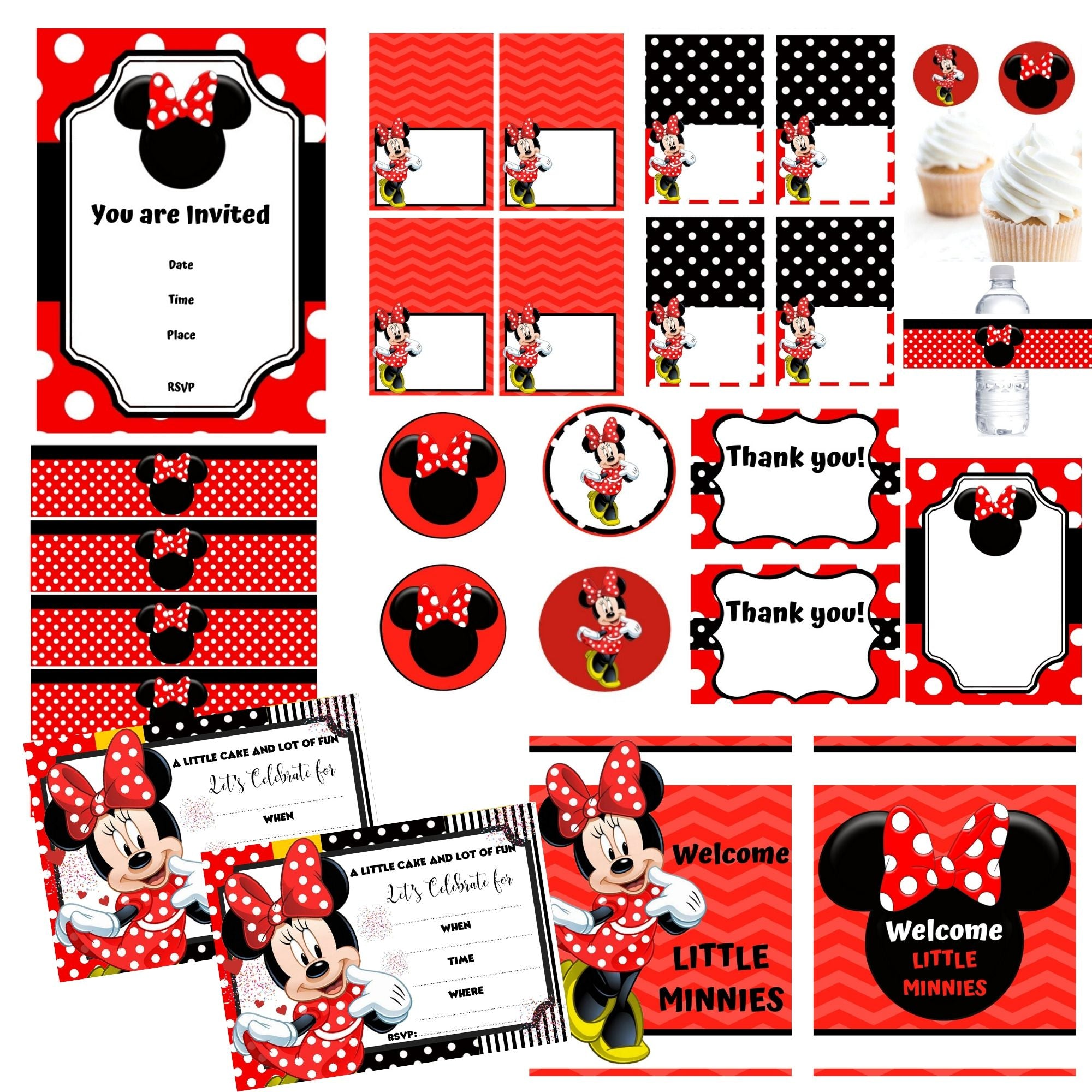 Minnie Mouse Birthday Party Package