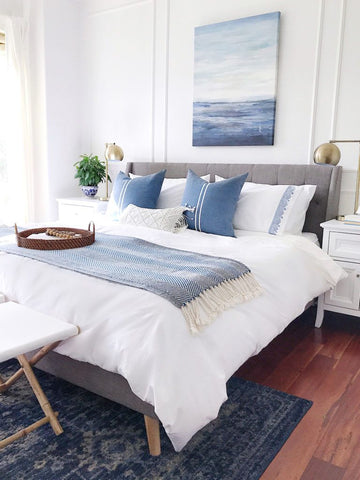 Easy, Breezy Summer Decorating Ideas - jane at home