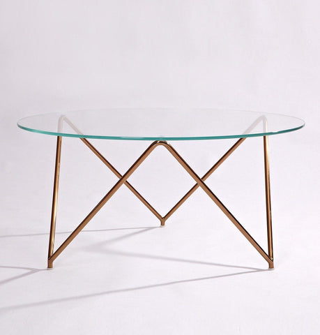 Raakel Glass Coffee Table