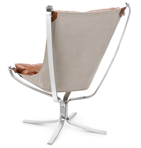 Falcon Chair with Ottoman