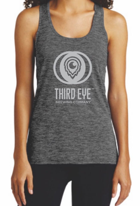 Ladies - Logo Tank Tops - Gray