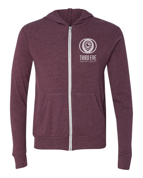 Live Life Full Zip Lightweight Hoodies