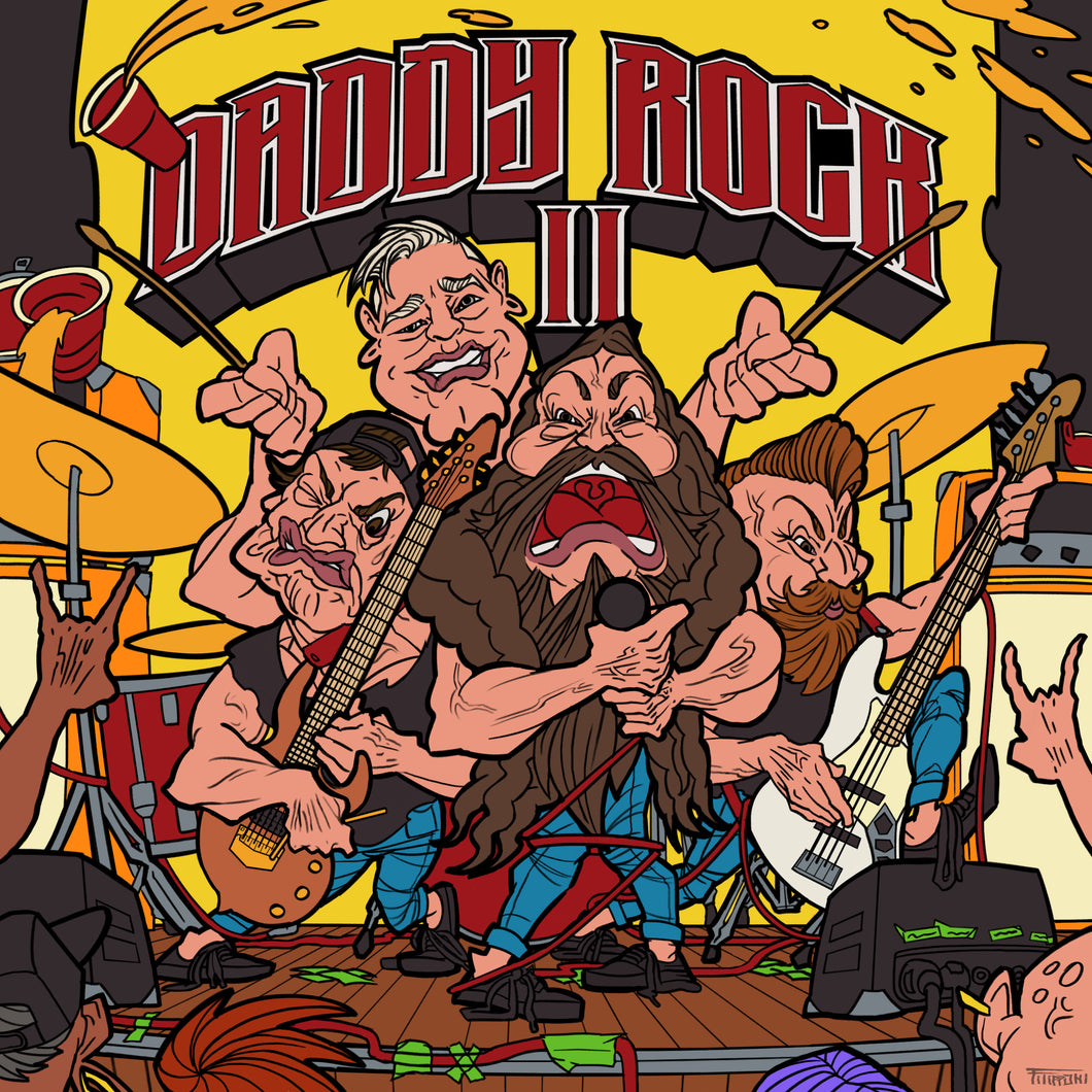 Daddy Rock II CD