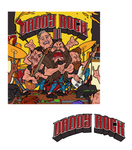 Daddy Rock CD + Sticker Bundle! (Limited to 20)