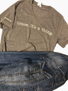 """Grace. It's a Thing."" Short Sleeve Tees"