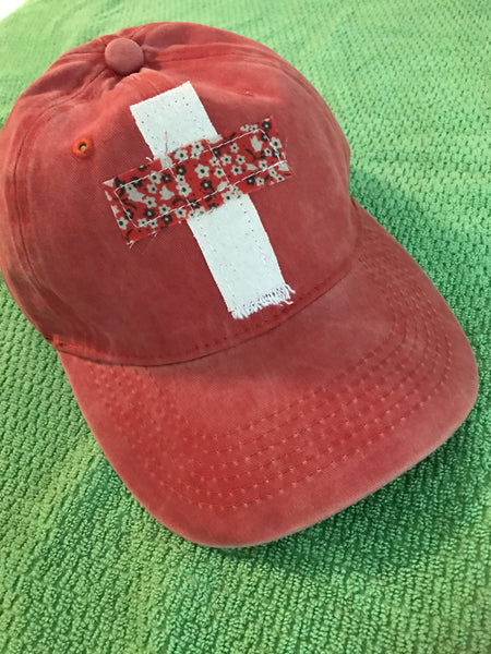 Rugged Cross Vintage Retro 100% Cotton Baseball Cap, Vintage Clay