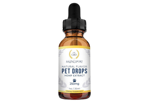 WELLNESS PET DROPS 250MG (NO THC)
