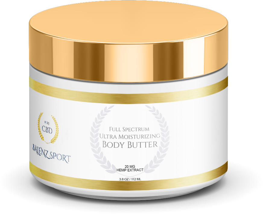 ULTRA MOISTURIZING BODY BUTTER 20MG (NO THC)