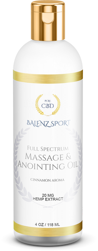 MASSAGE & ANOINTING OIL 20MG (NO THC)
