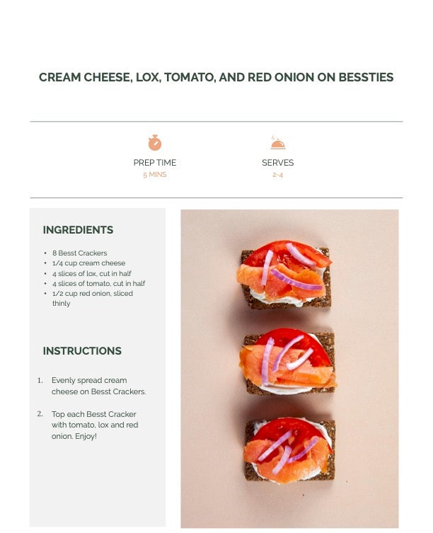 Lox and Cream Cheese