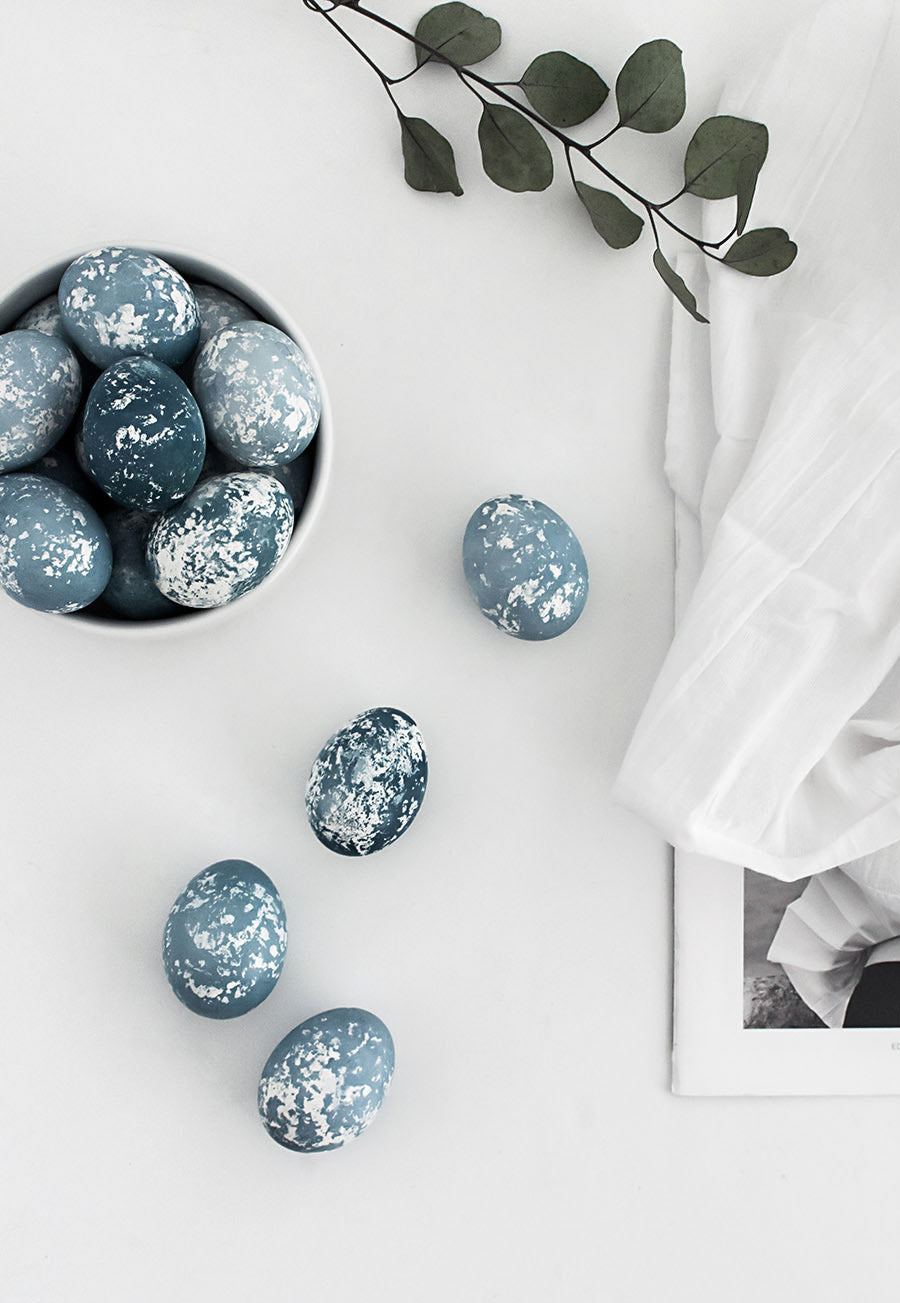 DIY Marbled eggs by home oh my blog