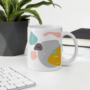 Inspirational Modern Encouraging bible verses mug