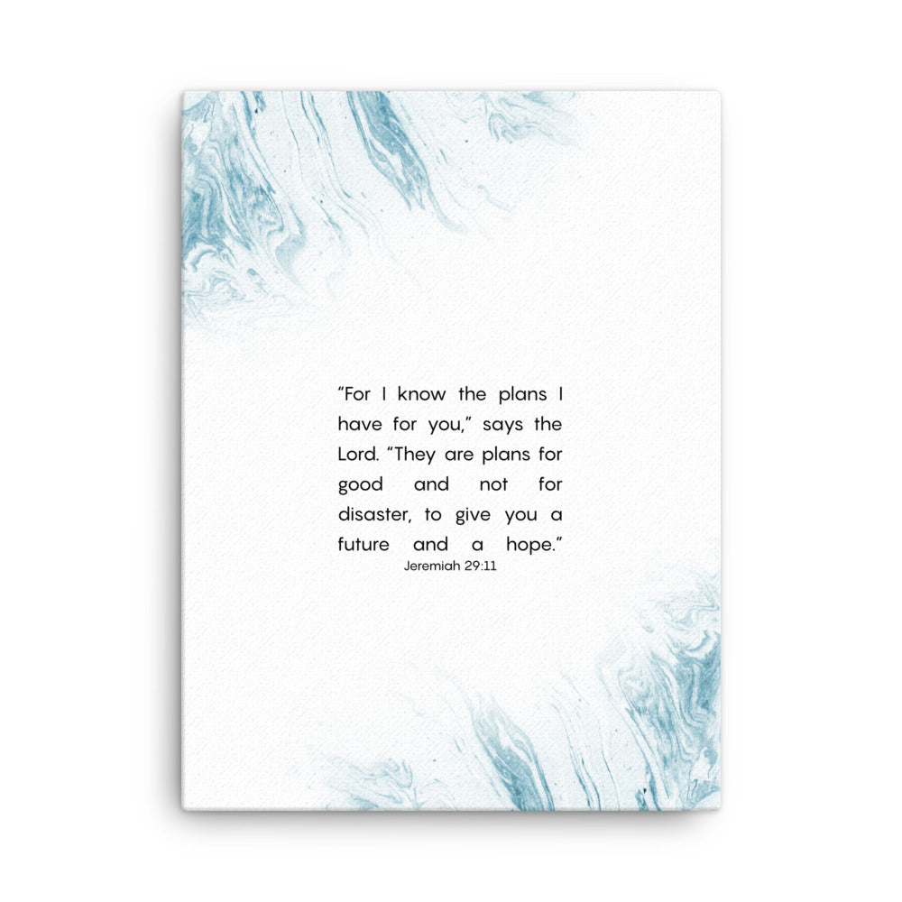 Jeremiah 29 11 wall art canvas