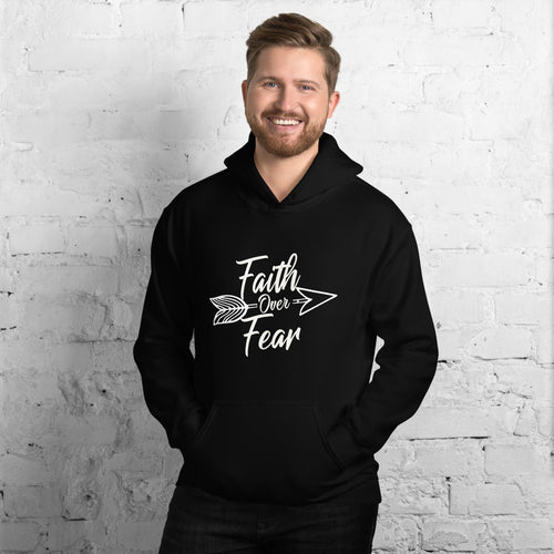 Faith Over Fear - Hooded Sweatshirt