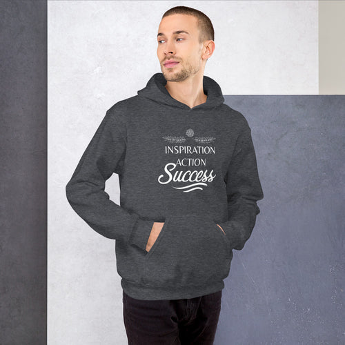 Inspiration Action Success - Hooded Sweatshirt