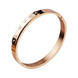 Love Engraved Bangles