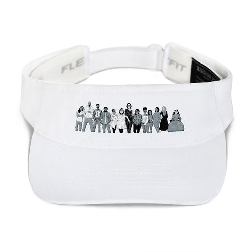 Your Soul Purpose - People - Black & White - Visor