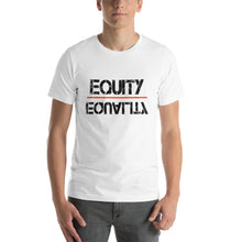 Load image into Gallery viewer, Equity Over Equality - Black - Short-Sleeve Unisex T-Shirt