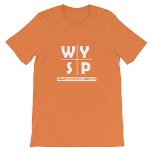 WYSP - What's Your Soul Purpose? - Cross - Short-Sleeve Unisex T-Shirt