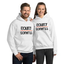 Load image into Gallery viewer, Equity Over Equality - Black - Hooded Sweatshirt