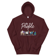 Load image into Gallery viewer, We the People - Bold - Black - Hooded Sweatshirt