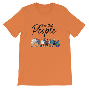 We are the People - Bold - Black - Short-Sleeve Unisex T-Shirt