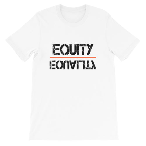 Equity Over Equality - Black - Short-Sleeve Unisex T-Shirt