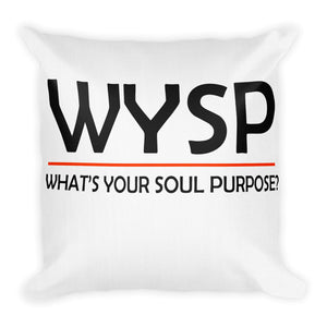 WYSP - Equity Over Equality - Black & White - Premium Pillow