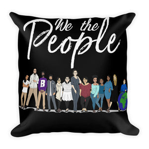 WYSP - People - Black & White - Premium Pillow