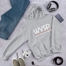 Load image into Gallery viewer, WYSP - What's Your Soul Purpose? - Bold - White - Hooded Sweatshirt