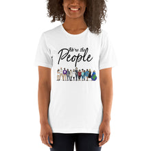 Load image into Gallery viewer, We are the People - Bold - Black - Short-Sleeve Unisex T-Shirt