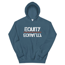 Load image into Gallery viewer, Equity Over Equality - White - Hooded Sweatshirt