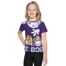 Load image into Gallery viewer, Be Bold - All Over - Purple - Kids T-Shirt