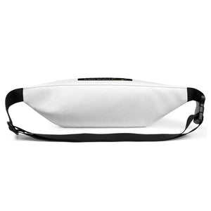 WYSP - What's Your Soul Purpose? - Bold - White - Fanny Pack