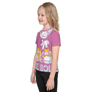 Be Bold - All Over - Pink - Kids T-Shirt