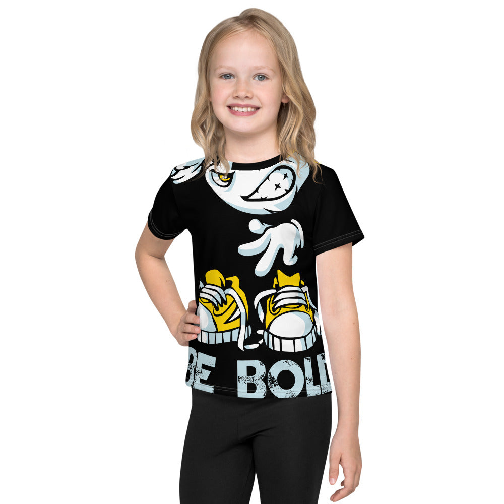 Be Bold - All Over - Black - Kids T-Shirt