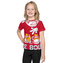 Load image into Gallery viewer, Be Bold - All Over - Red - Kids T-Shirt