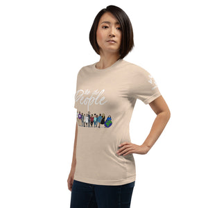 We the People - Bold - White - Short-Sleeve Unisex T-Shirt