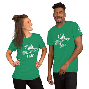 Faith Over Fear - Short-Sleeve Unisex T-Shirt