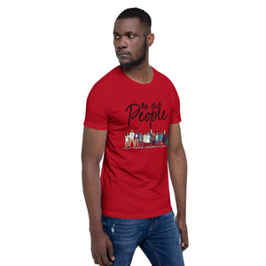 We the People - Bold - Black - Short-Sleeve Unisex T-Shirt